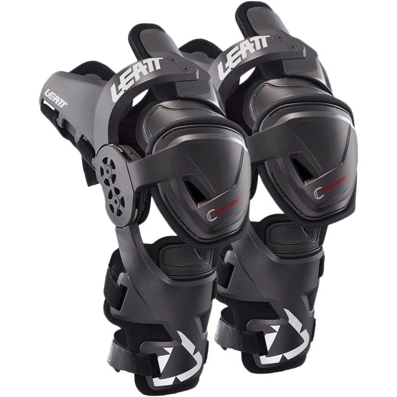 Leatt C-Frame Junior подростковые наколенники-суставы, черные