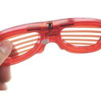 Светодиодные Светящиеся Очки Led El, Цвет Красный (4)