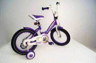 Детский велосипед RIVERBIKE-M-14-VIOLET