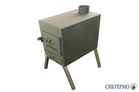 """Печь дровянная """"Сибтермо"""" малая"""