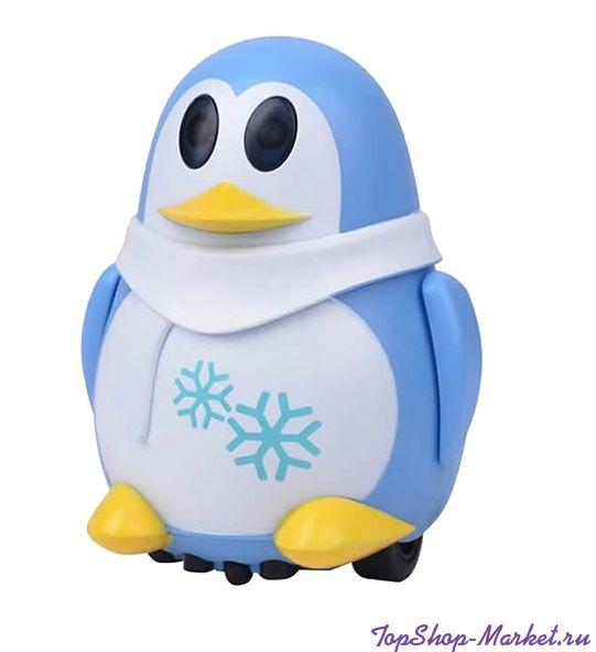 Индуктивная игрушка Пингвин с LED сенсором, Цвет: Голубой