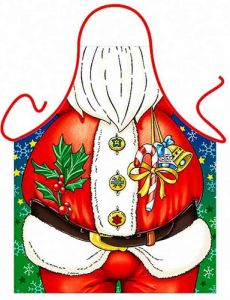 Новогодний фартук Дед Мороз