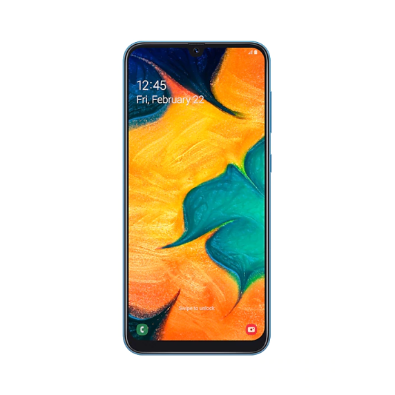 Samsung Galaxy A30 64 ГБ (синий)