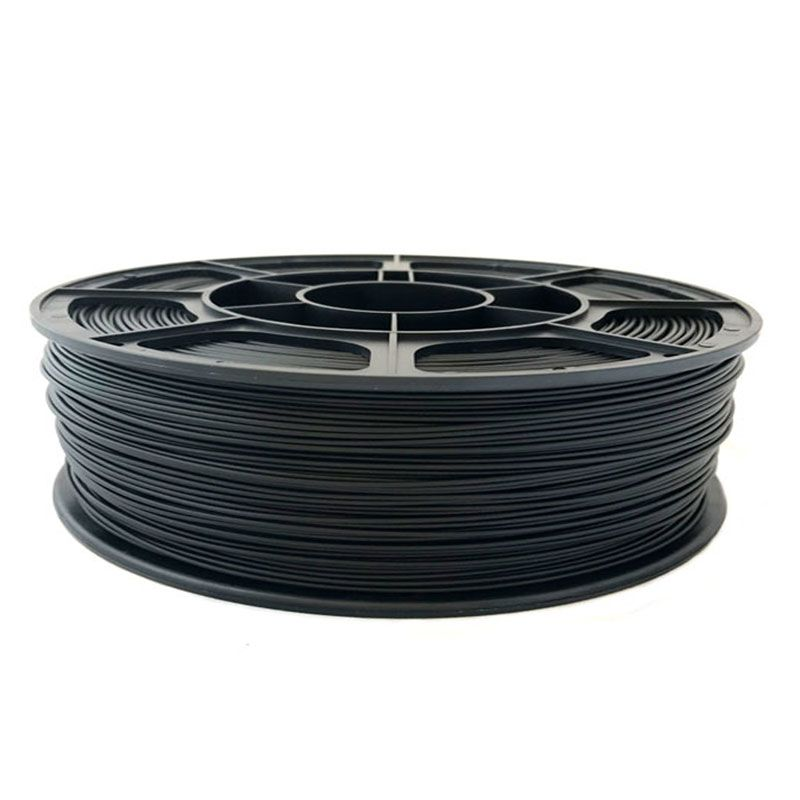 SBS пластик FilPlast 1.75 мм, Черный, 1 кг