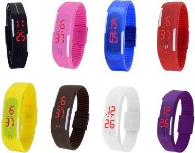 Часы наручные спортивные S-200  (Синие)