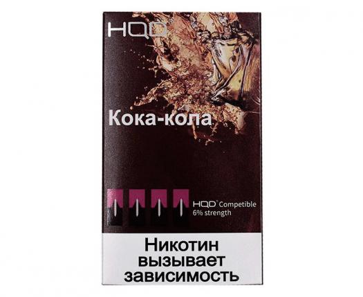 Картриджи HQD Кола (4 шт) 6%
