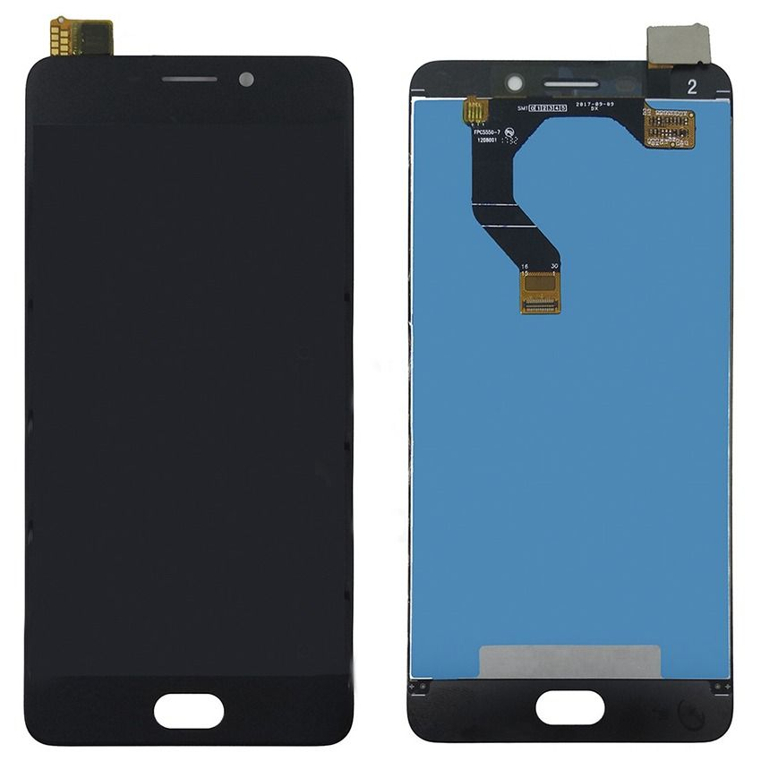 LCD (Дисплей) Meizu M6 (в сборе с тачскрином) (black) Оригинал
