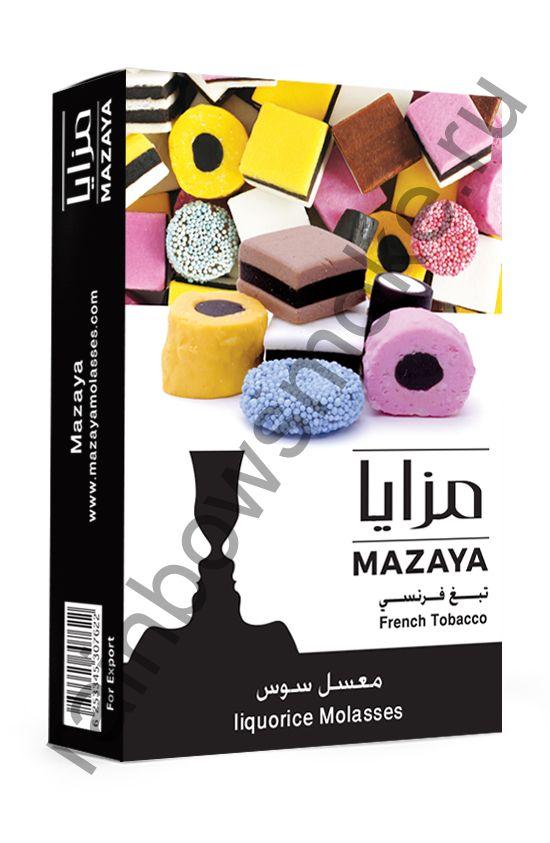 Mazaya 50 гр - Liquorice (Лакрица)