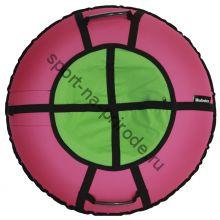 Тюбинг Hubster Ринг Хайп розовый-салатовый 120 см