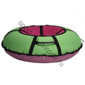 Тюбинг Hubster Ринг Хайп салатовый-розовый 100 см