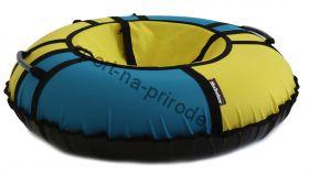 Тюбинг Hubster Хайп желтый-бирюзовый 90 см