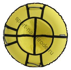 Тюбинг Hubster Хайп желтый 100 см