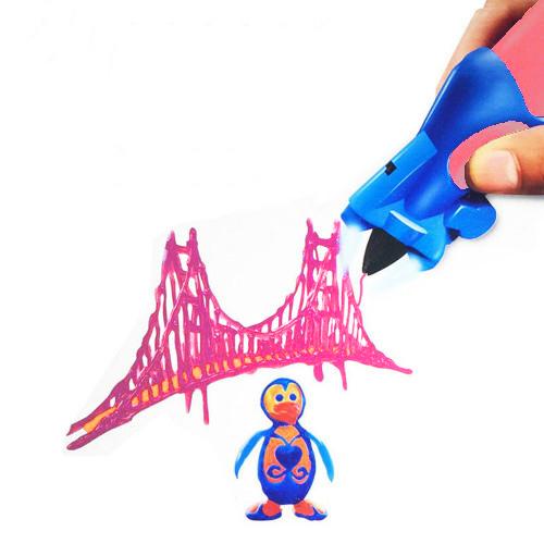 3D Ручка Creative Drawing Pen, Цвет Розовый
