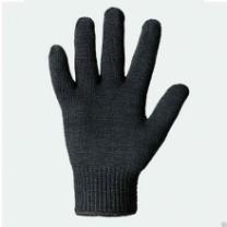 Перчатки ХБ без ПВХ ,чёрные