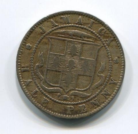 1/2 пенни 1894 года Ямайка