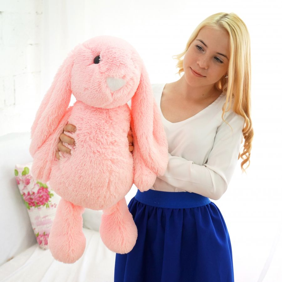 (Шкура) Лесли (Д - 65см) Розовый