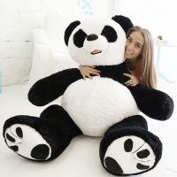 (Шкура) Патрик-панда (ОР-170см)(Д-140см) Черно-белый