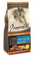 Primordial Grain Free Сухой корм для собак всех пород, с форелью и уткой, 400 г