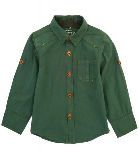 Рубашка для мальчиков 2-5 лет Bonito Jeans, khaki