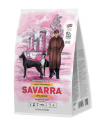 SAVARRA ADULT LARGE BREED DOG Сухой корм для собак крупных пород с ягненок и рисом, 3кг