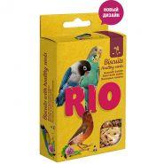 Рио Лакомство Бисквиты для птиц с полезными семенами, 5х7г