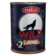 Berkley Adult Dog Wild №2 Консерва для взрослых собак с ягненком, тыквой, шпинатом и лесными ягодами - 400 г