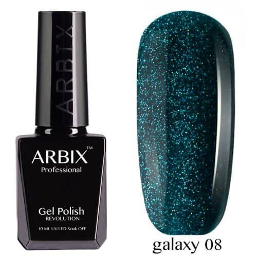 Arbix 008 Galaxy Гель-Лак , 10 мл