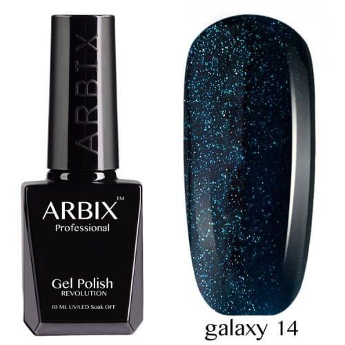 Arbix 014 Galaxy Гель-Лак , 10 мл