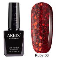 Arbix 003 Ruby Испания Гель-Лак , 10 мл