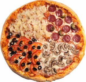 Пицца Четыре сезона 600г