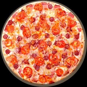 Пицца с копченостями 600г