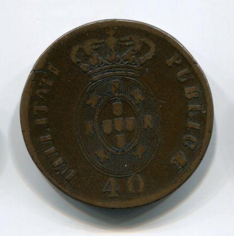 40 рейс 1826 года Португалия