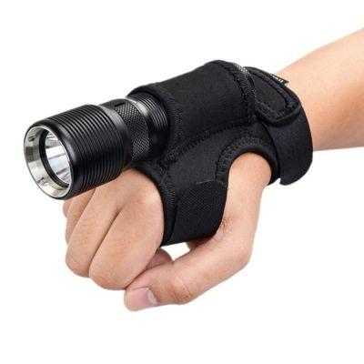 Универсальный нейлоновый держатель фонаря на руку
