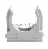 Крепеж-клипса для труб АБС-пластик в карт д20 (150шт/1500шт уп/кор) Промрукав