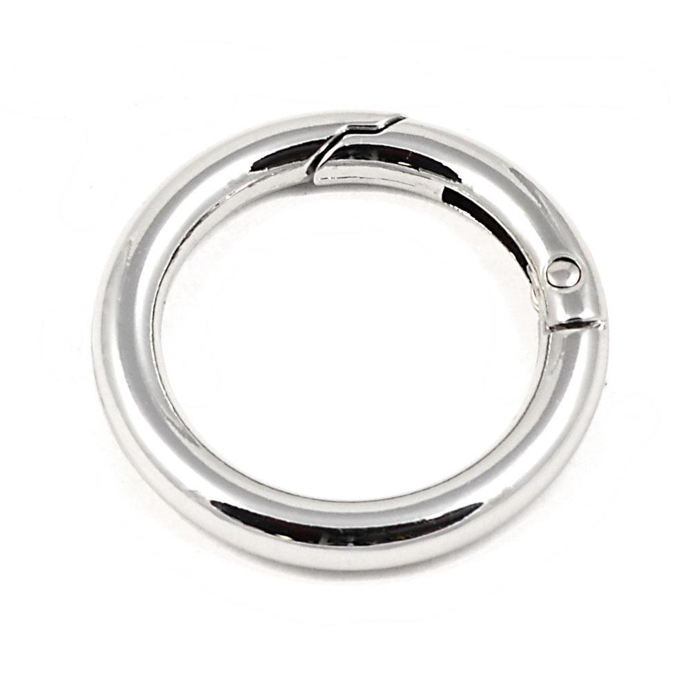 Кольцо разъемное 19 мм никель