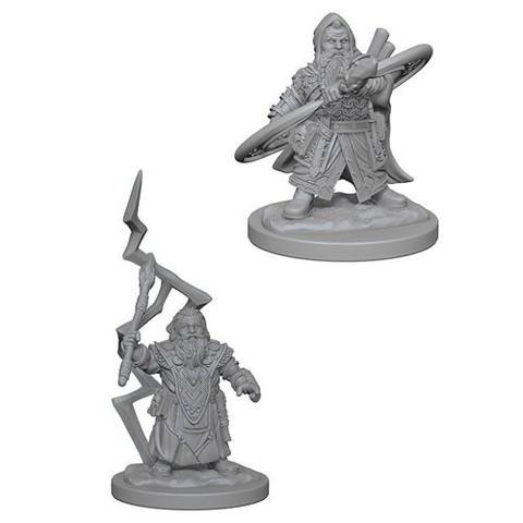 Pathfinder Miniatures - Dwarf Male Sorcerer