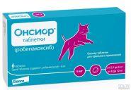 Онсиор 6мг для кошек, уп.6 табл
