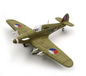 Сборная модель истребитель Хоукер «Харрикейн» 1:48 ВВС Чехословакия