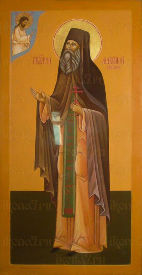 Икона Маврикий Полетаев преподобномученик