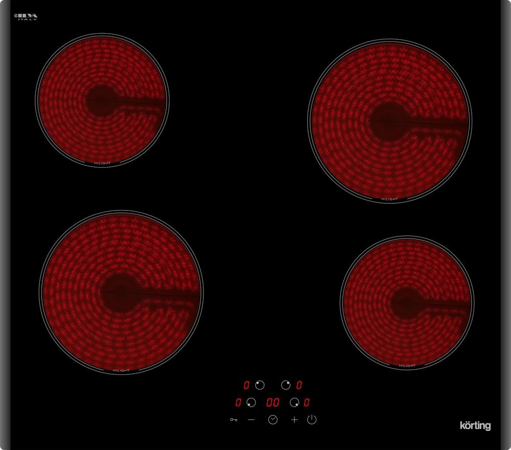 Электрическая варочная панель Korting HK 60003 B