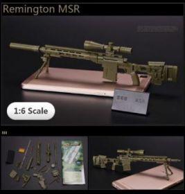 Сборная модель Снайперская винтовка Remington MSR 1:6