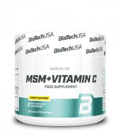 MSM + Vitamin C  от BioTech USA (150 g)