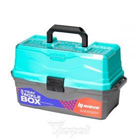 Ящик для снастей Nisus Tackle Box трехполочный N-TB-3-T