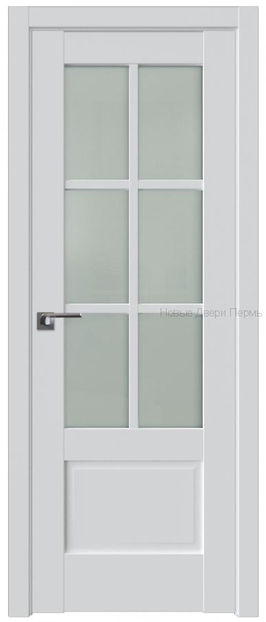 103U Аляска стекло Матовое с решеткой - PROFIL DOORS межкомнатные двери