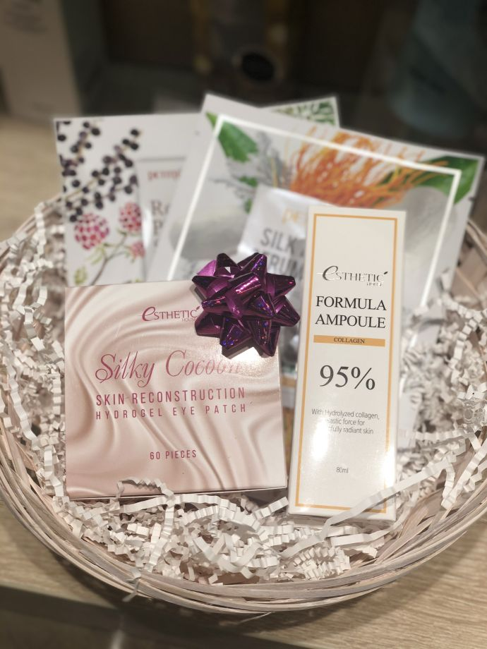 "Подарочный Beauty Box ""Silky Cocoon Collagen"""