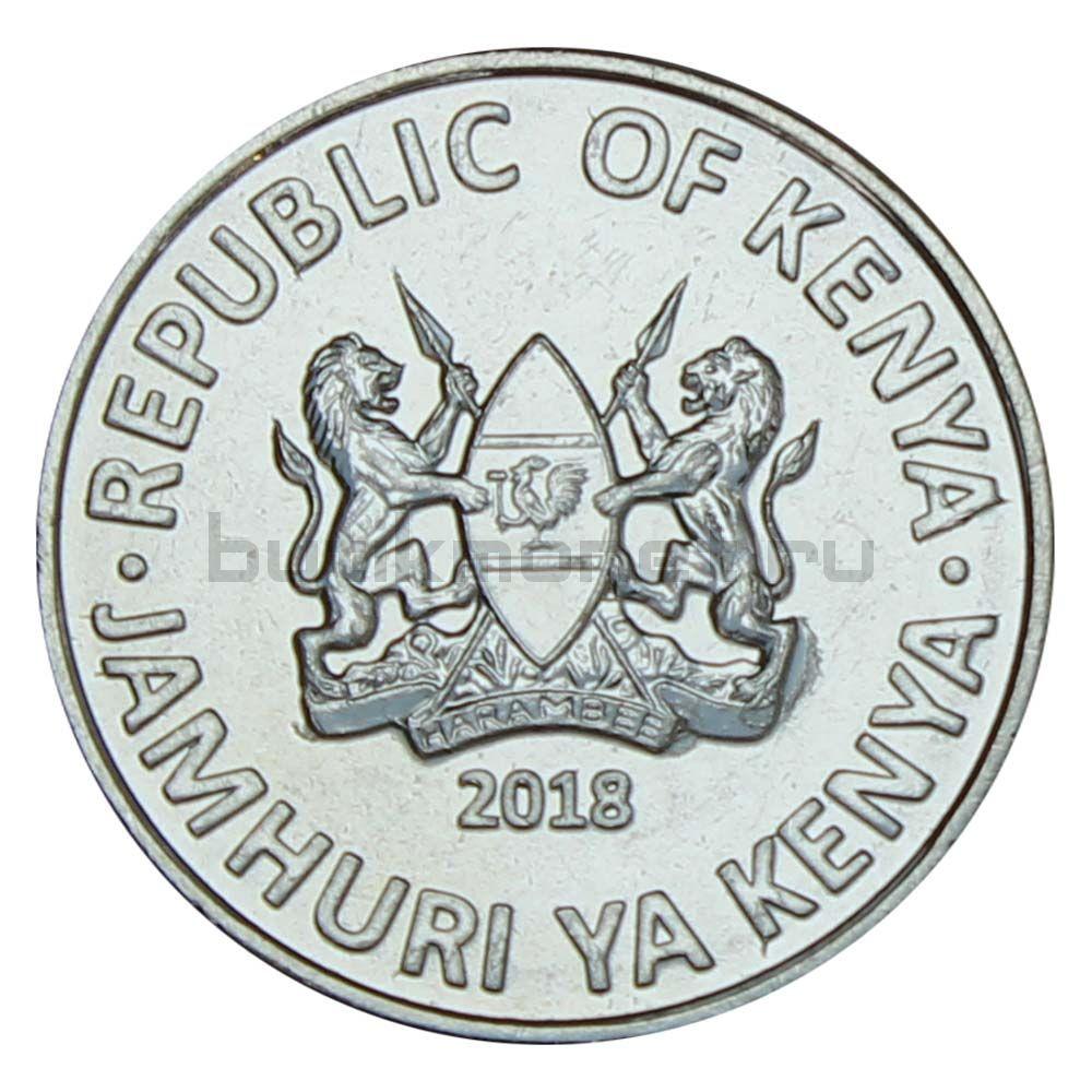 1 шиллинг 2018 Кения