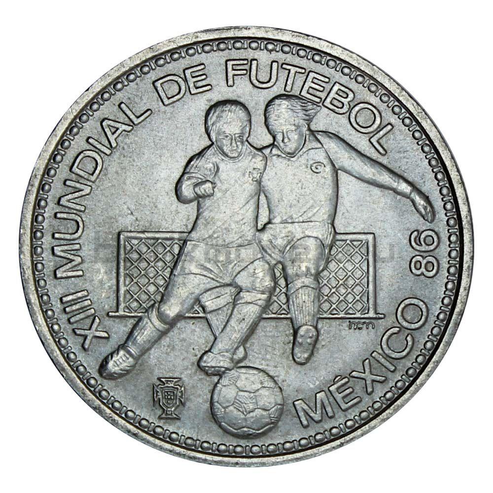 100 эскудо 1986 Португалия Чемпионат мира по футболу в Мексике