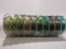 Spark Beads Нить для бисера TYTAN 100 микс зелено-оливковый