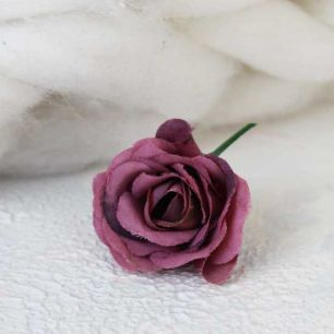 Цветок 2 см - тканевый Фиолетовый