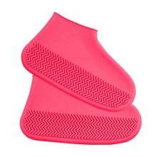 Водонепроницаемые защитные чехлы для обуви, размер S, Розовый